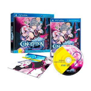 Jogo Conception II: Children of the Seven Stars + Soundtrack - PS Vita