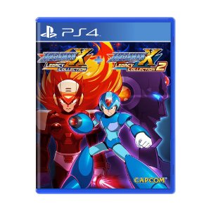 Jogo Mega Man X Legacy Collection 1 + 2 - PS4
