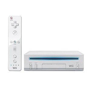 Console Nintendo Wii Branco - Nintendo (Japonês)
