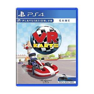 Jogo VR Karts - PS4
