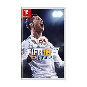 Jogo FIFA 18 - Switch