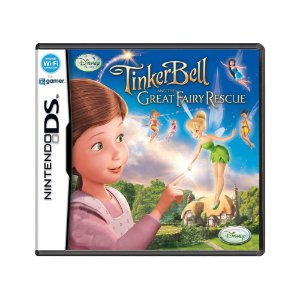 Jogo Disney Fairies: Tinker Bell and the Great Fairy Rescue - DS