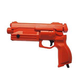 Controle Stunner Pistola Vermelha - Sega Saturn