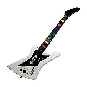 Guitarra Rock3 Branca (Item para Decoração)