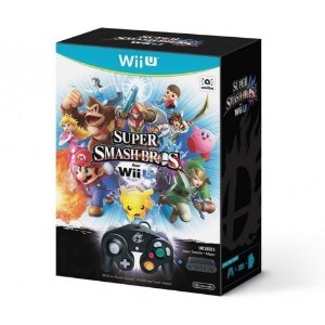 Jogo Super Smash Bros. for Wii U + Controller + Adapter - Wii U