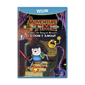 Jogo Adventure Time: Explore the Dungeon Because I Don't Know - Wii U