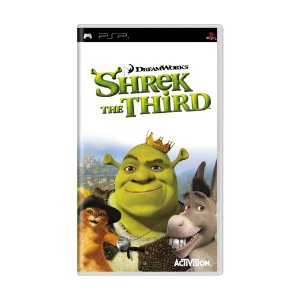 Jogo Shrek: The Third - PSP