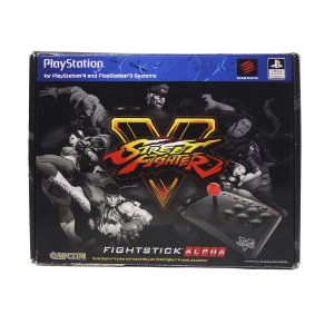 Controle Fightstick Alpha Arcade (Street Fighter V) - PS4 e PS3