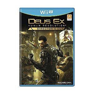 Jogo Deus Ex: Human Revolution (Director's Cut) - Wii U