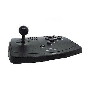 Controle Arcade Preto - Sega Saturn