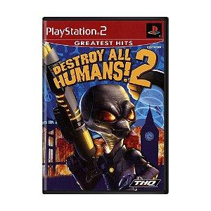 Jogo Destroy All Humans 2 - PS2