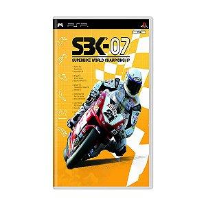 Jogo SBK - 07 Superbike World Championship - PSP