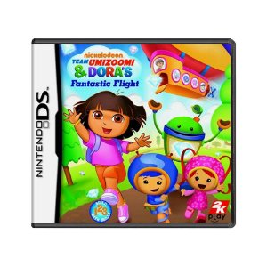 Jogo Nickelodeon Team Umizoomi & Dora's Fantastic Flight - DS