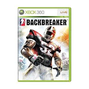 Jogo BackBreaker - Xbox 360