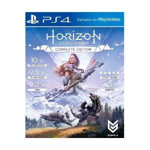 Jogo Horizon Zero Dawn (Complete Edition) - PS4 (Capa Dura)