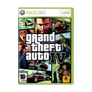 Jogo Grand Theft Auto IV - Xbox 360 (Europeu)