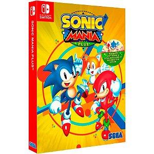 Jogo Sonic Mania Plus - Switch