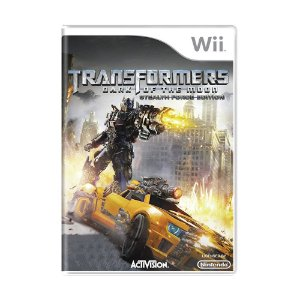 Jogo Transformers: Dark of the Moon (Stealth Force Edition) - Wii