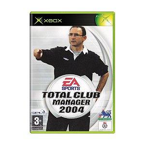 Jogo Total Club Manager 2004 - Xbox (Europeu)