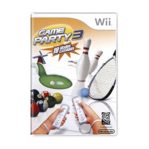 Jogo Game Party 3 - Wii