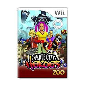 Jogo Skate City Heroes - Wii