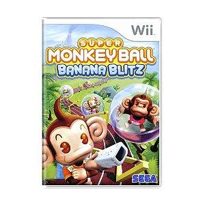 Jogo Super Monkey Ball: Banana Blitz - Wii
