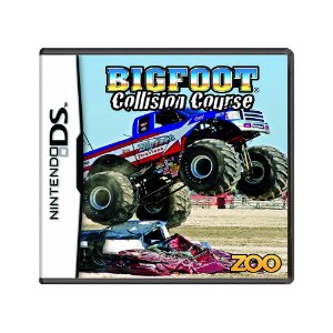 Jogo Bigfoot Collision Course - DS