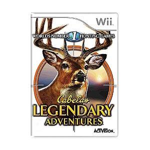Jogo Cabela's Legendary Adventures - Wii