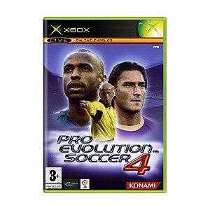 Jogo Pro Evolution Soccer 4 (PES 04) - Xbox (Europeu)