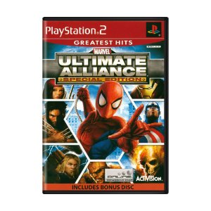 Jogo Marvel Ultimate Alliance (Special Edition) - PS2