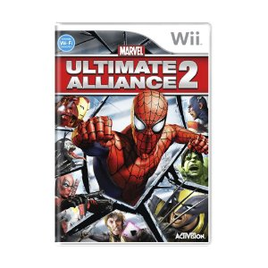 Jogo Marvel Ultimate Alliance 2 - Wii