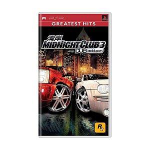 Jogo Midnight Club 3 (DUB Edition) - PSP