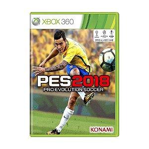 Jogo Pro Evolution Soccer 2018 - Xbox 360
