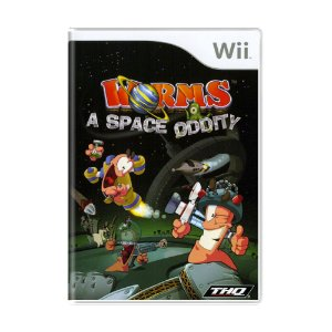 Jogo Worms: A Space Oddity - Wii
