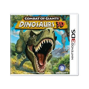 Jogo Combat of Giants: Dinosaurs 3D - 3DS