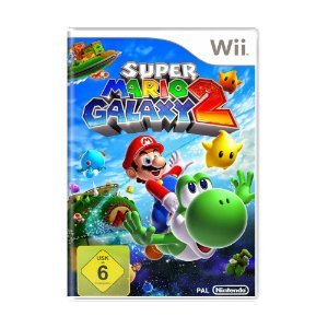 Jogo Super Mario Galaxy 2 - Wii (Europeu)