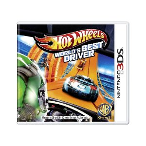 Jogo Hot Wheels World's Best Driver - 3DS