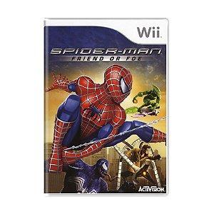 Jogo Spider-Man: Friend or Foe - Wii