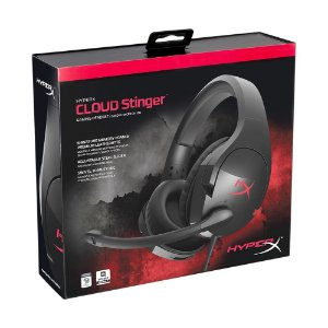 Headset Gamer HyperX Cloud Stringer - PS4, Xbox One, PC e Switch