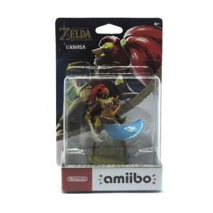 Nintendo Amiibo: Urbosa Breath of The Wild - Wii U, New Nintendo 3DS e Switch