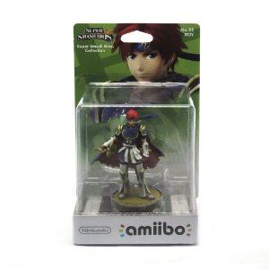 Nintendo Amiibo: Roy No. 55 Super Smash Bros - Wii U, New Nintendo 3DS e Switch