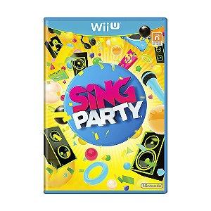 Jogo Sing Party - Wii U