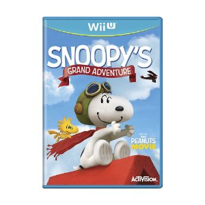 Jogo The Peanuts Movie: Snoopy's Grand Adventure - Wii U