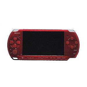 Console PSP PlayStation Portátil 3003 Vermelho - Sony