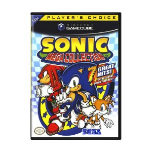 Jogo Sonic Mega Collection - GameCube