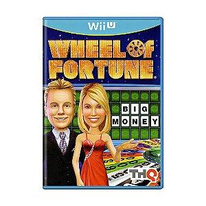 Jogo Wheel of Fortune - Wii U
