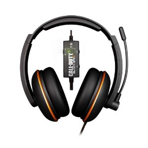 Headset Turtle Beach Ear Force Kilo Edição Call Of Duty Black Ops II - Multiplataforma (Defeito no Microfone)