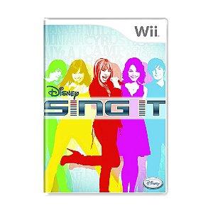 Jogo Disney Sing it - Wii