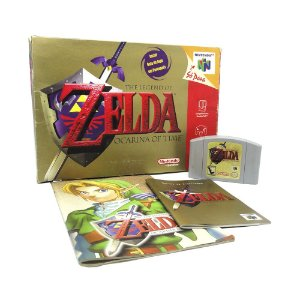 Jogo The Legend of Zelda: Ocarina of Time (Collector Edition) - N64