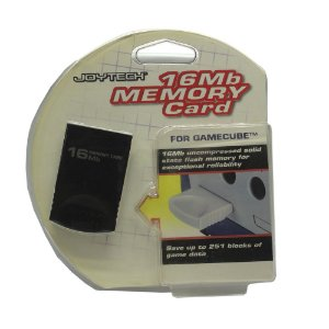 Memory Card Joytech 16MB - GameCube